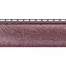 Красно-коричневый сайдинг Блокхаус (под бревно), Однопереломный, Альта-Профиль