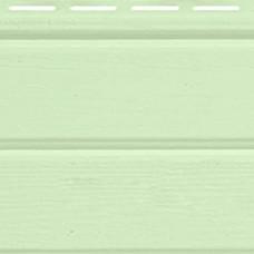 Светло-зеленый виниловый сайдинг Montana FineBer