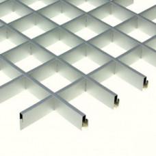 Потолок Грильято металлик 100х100 (м2)