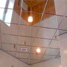 Суперхром кассетный потолок Албес