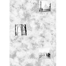 Панель ПВХ - Сити-стайл (Город) серый