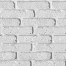 Панель ПВХ - Кирпич белый
