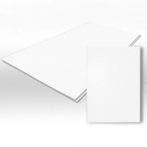 Ламинированная панель - Белая матовая