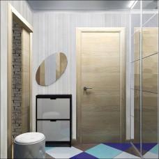 Ламинированная панель - Рипс голубой