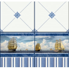3D-панель ПВХ Unique - Корабли