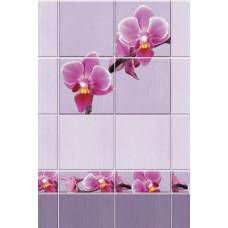 3D-панель ПВХ Unique - Орхидея узор