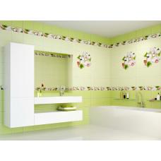 3D-панель ПВХ Unique - Яблоня зеленая узор