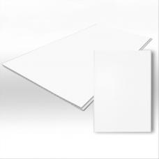 Белая матовая ПВХ панель 2700х250х8 мм
