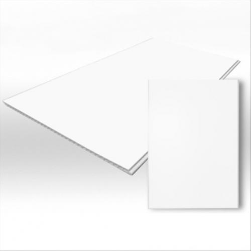 Белая матовая ПВХ панель 3000х500х10 мм